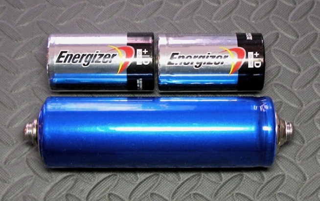 Here's a Headway 38120 next to two common flashlight D-cells for scale.