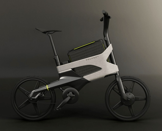 peugeot edl-132, exotic french concept e-bike | electricbike