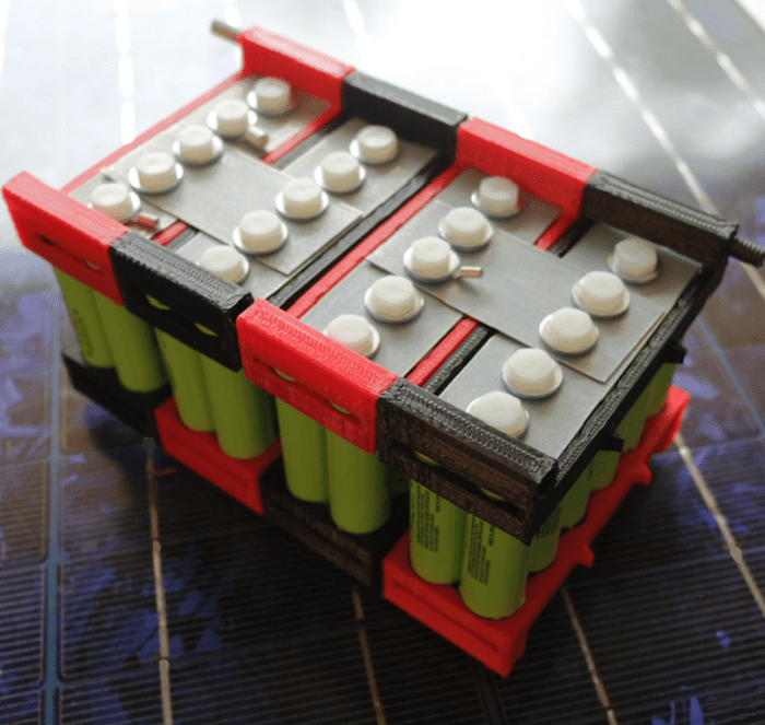 Diy 18650 Cell Battery Pack Building Kits Five Options