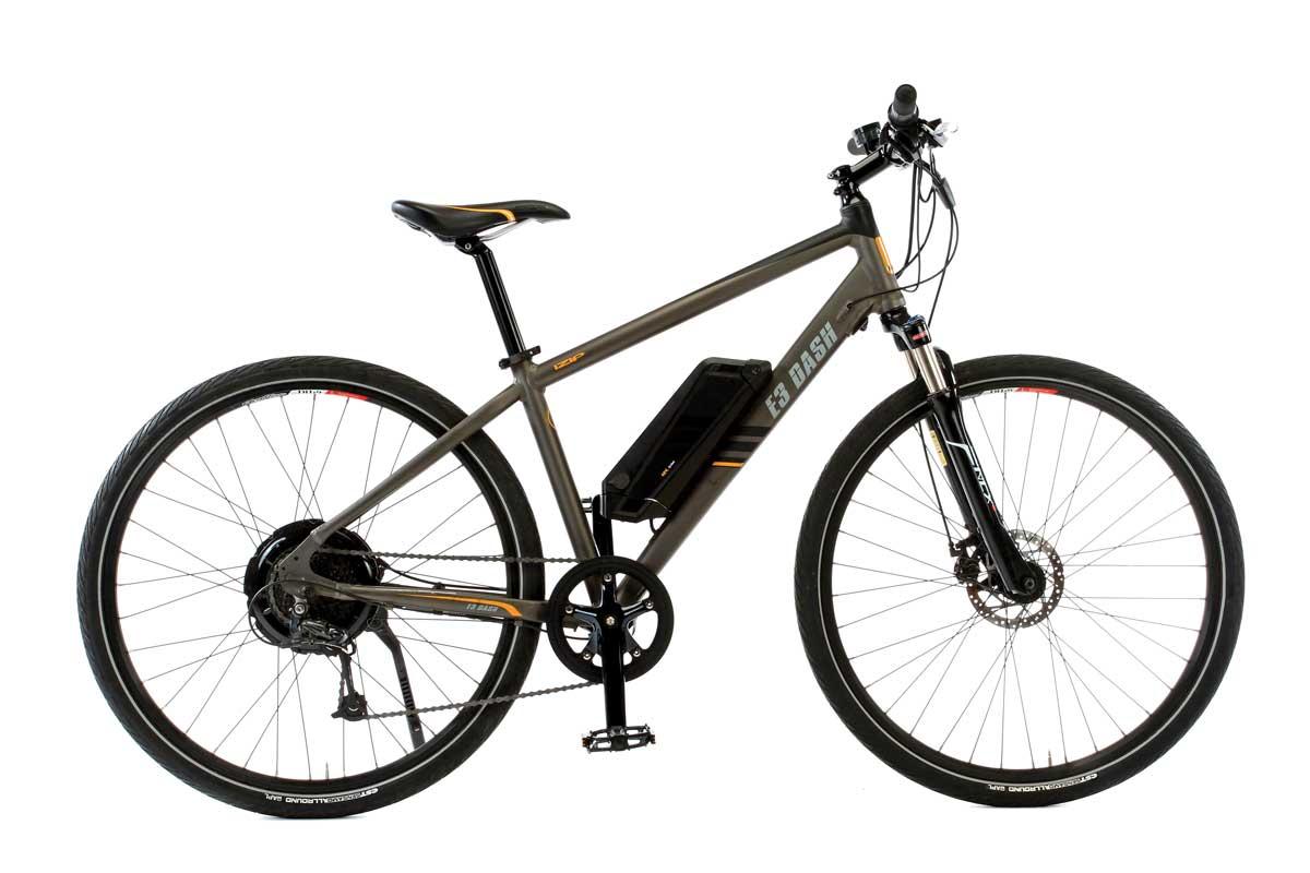 Izip E3 Dash Electric Bike Action