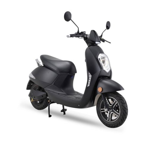 Z4L-Crystal Electric Moped-Black