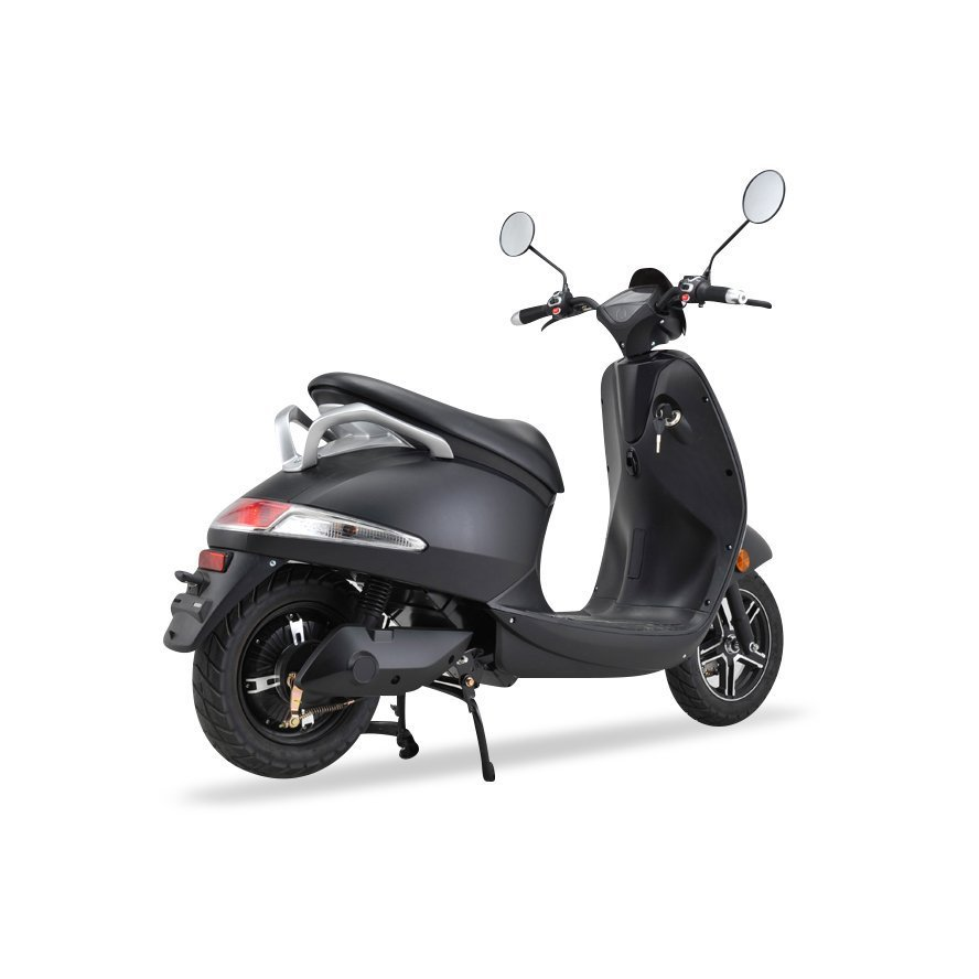 VOOM Crystal Electric Moped With Removable Battery