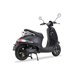 Z4L Crystal Electric Moped Color: Black