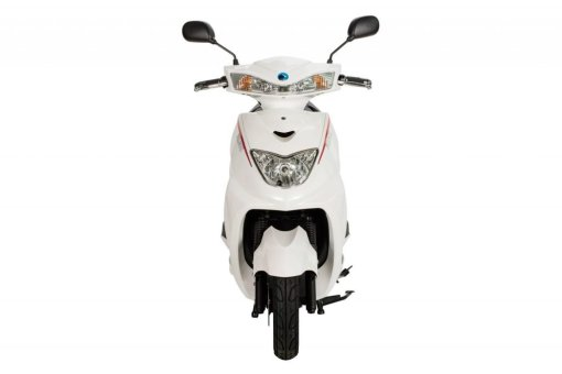FALCON ELECTRIC MOPED – WHITE