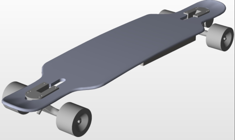 DIY Electric Skateboard Design