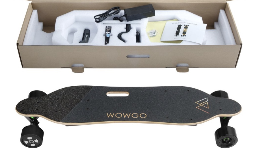 Wowgo Electric Skateboard Packing
