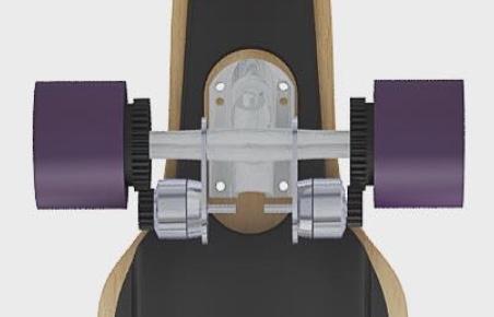 Jed Electric Skateboard Gears