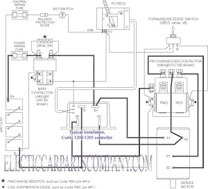 Curtis PB6 Pot Box Throttle EV Controller Component