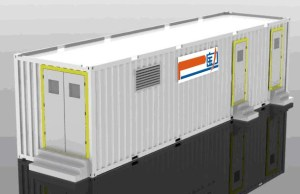 Largest Energy Storage Battery System Up to 1MWH 40ft