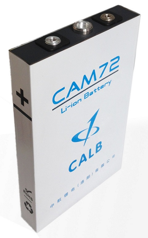 CAM72FI 72Ah CALB Lithium Battery LiFePO4 Prismatic Cell Electric Car Parts Company