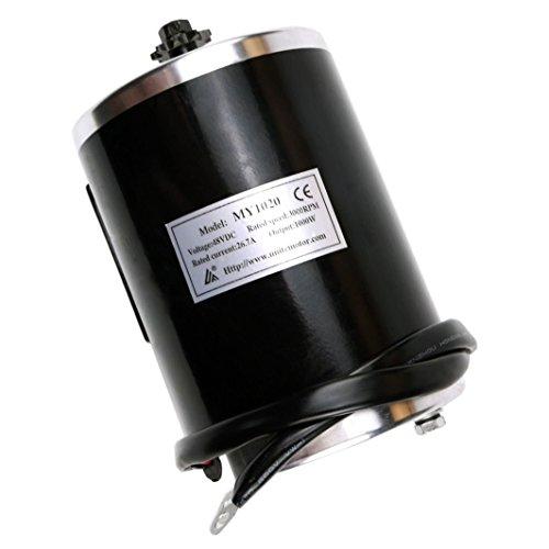 JCMOTO 48v 1000w Brush Electric Motor For Go Kart Scooter E