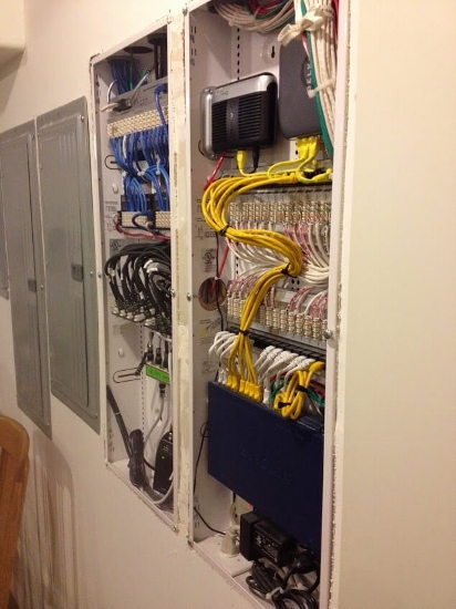 Low Voltage Prewiring   Denver Electrician   Electric Doctor broomfield residential low voltage structured wiring panels