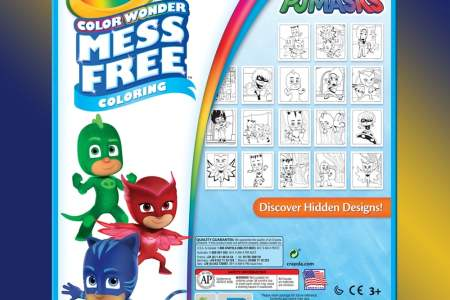 crayola color wonder pj mask coloring pages markers » 4K Pictures ...