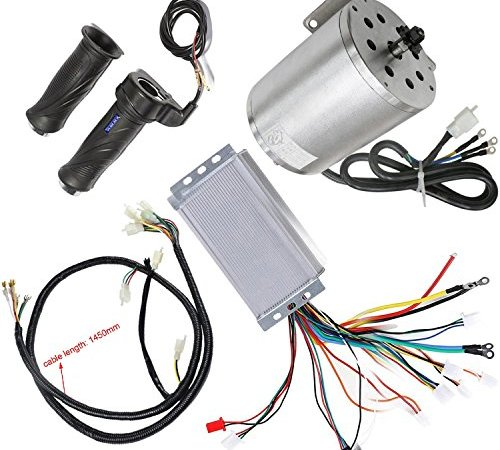 WPHMOTO 48V High Speed 1800W Electric Brushless DC Motor with 32A
