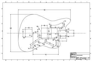 Fender Jazzmaster Guitar Templates | Electric Herald