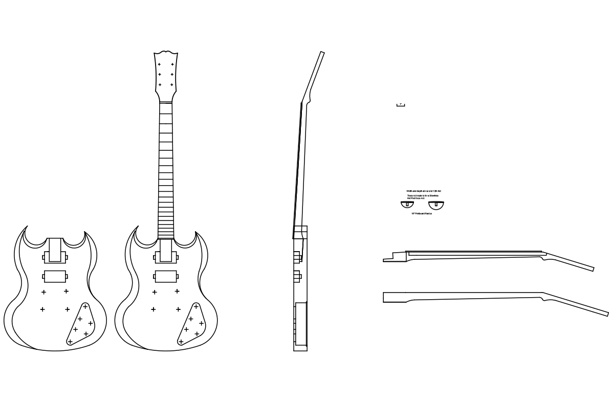 Gibson Sg Headstock