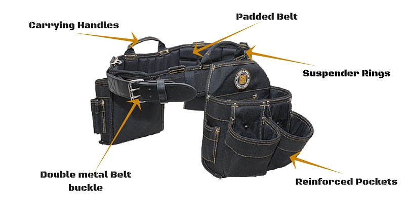 rack a tiers electrician tool belt