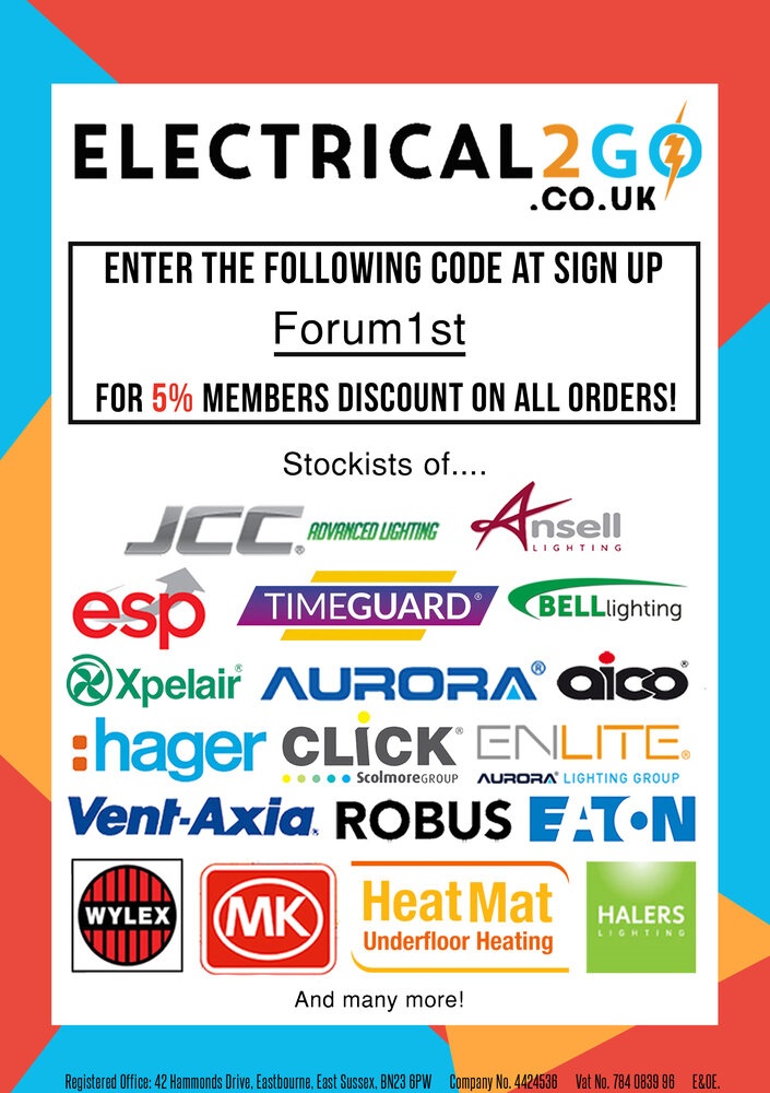 EV Charging Wallbox Points from Electrical2Go - Discounts at Electricians Forums
