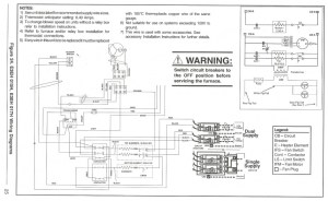 Nordyne Furnace Supply Wiring  Electrician Talk