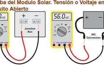 multímetro solar para mediciones de Paneles Solares