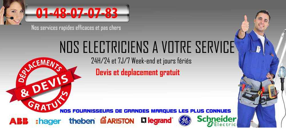 banniere electriciens paris 75005