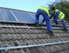 installation panneaux solaires