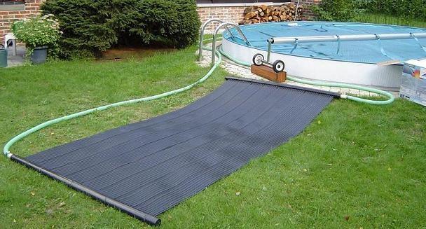 chauffe eau solaire de piscine. Black Bedroom Furniture Sets. Home Design Ideas