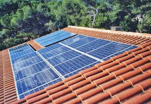 panneaux solaires domestique