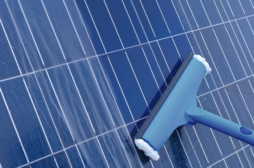 Entretenir les panneaux solaires