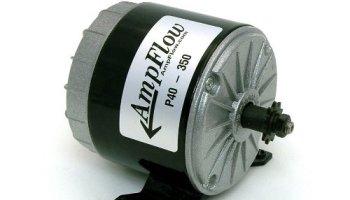 AmpFlow P40-250 Brushed Electric Motor, 250W, 12V, 24V or 36