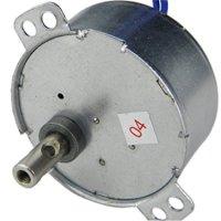 110V AC 10-12RPM Generic TYD-50 Synchronous Motor CCW 4W Torque 3Kg.cm 4W