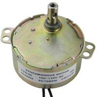 TYD-50 Synchronous Motor 110V AC 65-78RPM CW CCW 4W Torque 0.4Kg.cm 4W