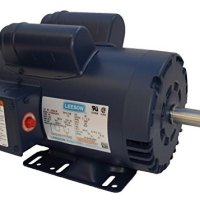 5HP 3450rpm 145T 230V Replacement Air Compressor Motor Leeson Electric Motor # 120554