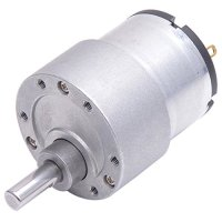 JGB37-520 DC Gearmotor with Free-run Speed of 800RPM and Free-run Current of 300mA at 6V for Robots and Cars with Low Noise from Optimus Electric
