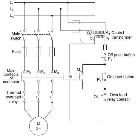 Best Dol Starter Control Circuit Diagram Pictures Images for – Diagram Of Motor Control Wiring
