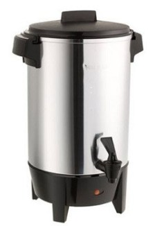 10 TO 30 CUP Aluminum Percolator Coffee Pot