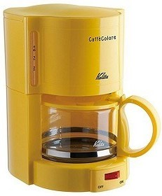 KALITA Yellow coffee maker