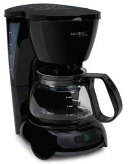 Mr.Coffee Tf5-099 Black 4-cup Coffeemaker