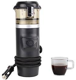 12V Espresso Machine Car Espresso Coffee Machine, Make Espresso in Car 12V Car Coffee Maker with 2 cups