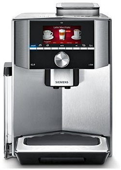 Siemens Espresso Machine Eq.9 Ti905501de Fully Automatic New Made in Germany