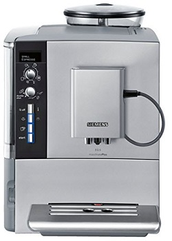 Siemens EQ.5 TE515201RW Super Fully Automatic Espresso Machine, Coffee Capuccino Latte Maker, OneTouch DoubleCup System, SIlver