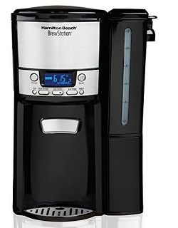 Hamilton Beach 12-Cup Programmable Coffee Maker, BrewStation Dispensing Coffee Machine (47900)