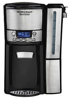 Hamilton Beach 12-Cup Programmable Coffee Maker, BrewStation Dispensing Coffee Machine