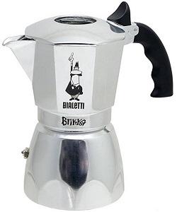 Bialetti 06835 Brikka Stovetop Espresso Maker, 4-Cup