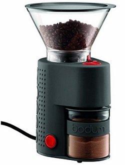 Bodum BISTRO Burr Grinder, Electronic Coffee Grinder with Continuously Adjustable Grind,