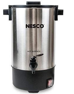 Nesco CU-25 Professional Coffee Urn, 25 Cups, Stainless Steel - Black