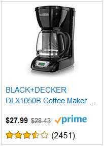 7 black and decker coffee maker