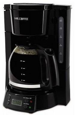 2a Mr. Coffee 12-Cup Programmable Coffee Maker, Black