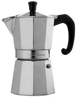 6a Bellemain 6-Cup Stovetop Espresso Maker Moka Pot