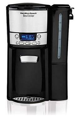 7a Hamilton Beach 12-Cup Coffee Maker, Programmable BrewStation Dispensing Coffee Machine (47900)